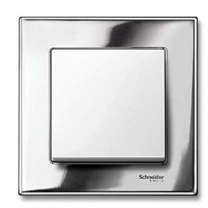 Switch schneider silver
